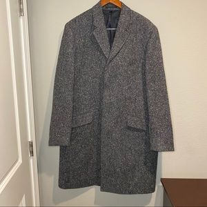 NWT! Men's J. Crew Ludlow Wool Tweed Long Coat